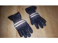 Motorcycle / Motorbike Jacket and Leather Winter Gloves