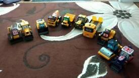 10 Talking JCB toys