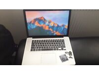 Apple macbook pro (2011) intel core i5 320gb harddrive 4gb ram.