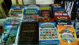Books Approx. 50 kids - Teen books / Mags mixture as per picture Plus 6 Jigsaw Puzzles