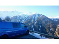 High Spec 2008 VW T5 LWB T30 1.9L Campervan *New Conversion* AC & CC
