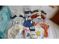 Baby boy brand new clothes bundle M&S