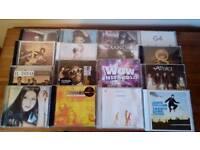 16 various cds