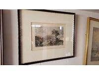 "D. Buckle Framed Print – ""Loch Linnhe; Looking South"""