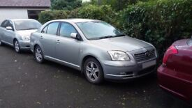 Toyota Avensis drive / offside wing in silver code 6T1 03 - 06