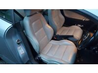 Full mk1 Audi TT coupe heated ivory leather(can also fit cabrio....mk2/3 golf, lupo, corsa, fabia)