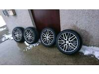Honda 18 delta alloy wheels,not rage, rare civic type r