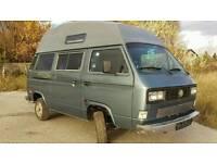 VW T25 Campervan Air con, power steering, rust free.