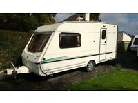 2 berth touring caravan, 2003 Abbey Aventura 315, immaculate condition throughout