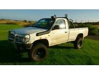 Toyota hilux 2.4 ex single cab 4x4