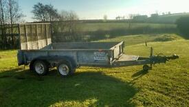 Ifor Williams plant trailer 10x5_7