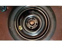 Genuine ford focus space saver spare wheel 1999/2004