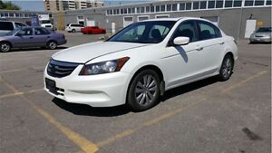 2012 Honda Accord EX L WITH LEATHER & SUNROOF/ WE APPROVE EVERYO