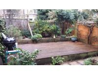 SE4 – lovely, unfurnished 2 double bedroom, garden flat in Aspinall Road, Brockley