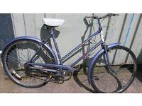 Raleigh Caprice Retro Vintage Eroica Classic Kitch Rare Ladies City Bike