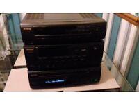 Aiwa hifi stereo seperates system