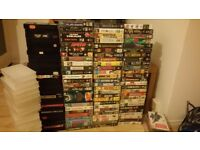 VHS 142 Classic Films/TV Shows **Collection only ** £10 BARGAIN!!!