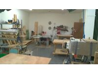 Fully Equipped Wood Workshop Rent Share