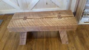 FOR SALE! Timber-framed Benches built by an ARTISAN