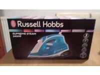Brand New russell hobbs supreme steam iron 2400w