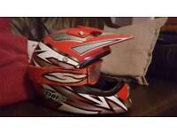 Motorcross helmet used cond