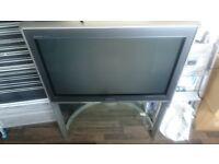"FREE - Panasonic TX-36PD30 36"" CRT television."