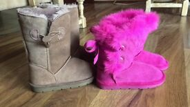 Girl's boots. Brand new. Size 8.