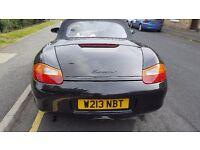Porsche Boxster Black