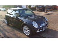 MINI Hatch Cooper 1.6 3dr Auto SAT NAV TANNED/BLACK LEATHER Chilli pack