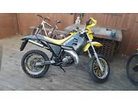 Yamaha 125 Sachs fun bike dirt bike 2 stoke german made or a would swap for a mint 4 stoke