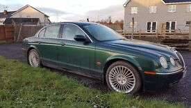 MAY 2005-JAGUAR S-TYPE SE DIESEL AUTO-2.7 V6-REALLY CHEAP!(RANGE ROVER,VW,MERCEDES,BMW)