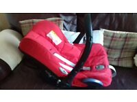 Maxi-Cosi Cabriofix first car seat.