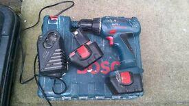 Bosch GSR 12-2 professional 12v drill good condition