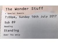 The Wonder Stuff - 2 x tickets