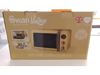 Digital Swan retro microwave