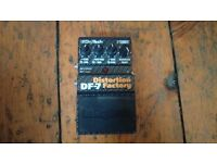 Digitech Distortion Factory DF-7 effects pedal. £25 ono
