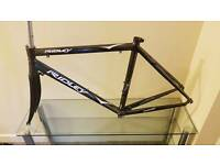 Ridley triton road bike frame and carbon fork.