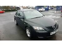 Black Mazda 3 TS. Excellent condition. MOT'd until Jan 2019