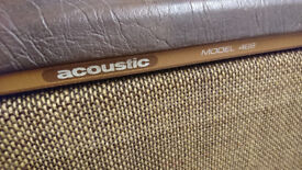 Acoustic ( brand) 469 4 x 12 speaker cabinet. 1970's angled front - very tidy - used