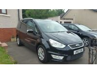 Ford galaxy 2.0 zetec 140 powershift 7 seater 13 plate