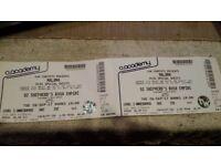 2 tickets to Maluma! @ Shepherd Bush Empire 26/09/17 £90 for both
