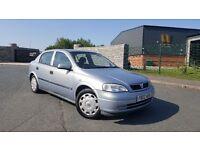 2002 Vauxhall Astra 1.6 Club 8v FULL SERVICE HISTORY CLEAN CAR 5 Door Corsa Megane Clio Vectra