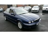 2002 JAJUAR X TYPE VERY LOW MILES *54000* 2.5 V6 4X4 CHEAPER PX WELCOME £625