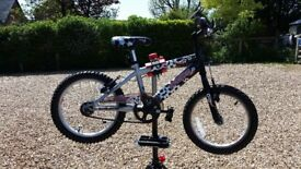 BOYS RALEIGH STRIKER MOUNTAIN BIKE 16IN WHEELS FULLY SERVICED GOOD CONDITION 5-7YRS