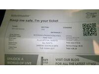 Take That Tickets x2 Dublin, 16/5/17