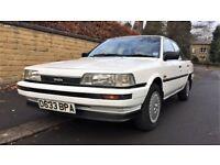 Toyota Camry 2.0 GLi Manual White *Classic* *Rare*