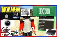 PS3 80GB WITH GTA5 AND LEXICON ?????