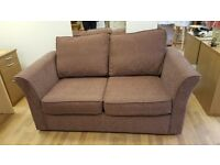brown cord sofa bed