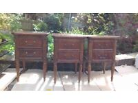 Beautiful Solid Cherry Wood Cabinet (three available)