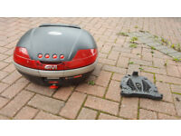 Givi V46 Monokey Top Box incl. backrest and base plate